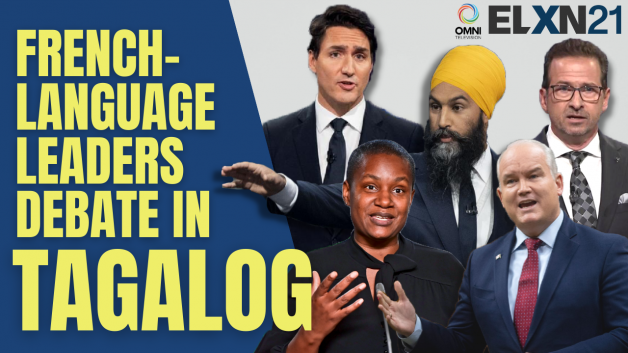 Watch the French-language federal election leader's debate – in Tagalog