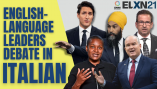 Watch the English-language federal election leaders debate – in Italian